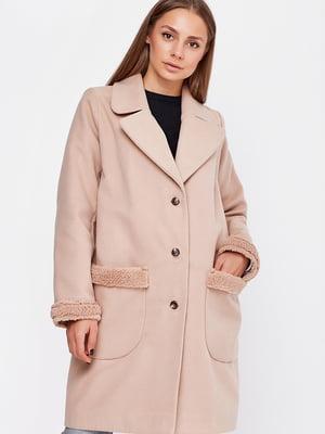 Пальто бежевое | 5592214