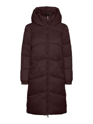 Куртка шоколадно-сливового кольору | 5580698