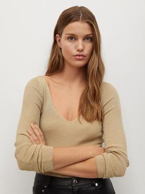 Пуловер бежевий | 5593930
