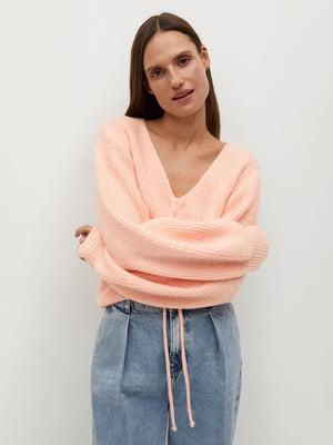 Пуловер рожевий | 5593936