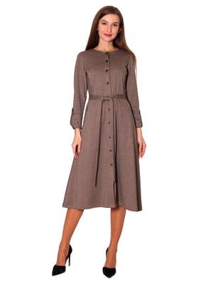 Платье бежевое | 5594417