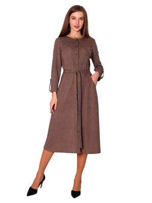 Платье бежевое | 5594418