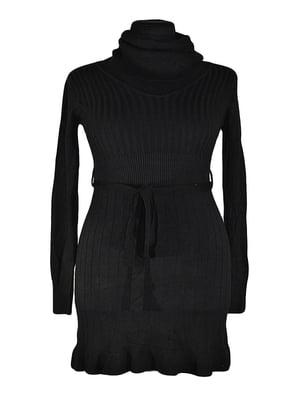 Платье-туника черное | 5593875