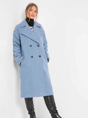 Пальто блакитне | 5595529