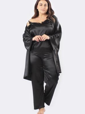 Комплект: майка, штани і халат | 5595963