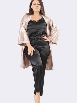 Комплект: майка, штани і халат | 5595965