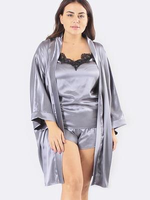 Комплект: халат, майка і шорти | 5595973