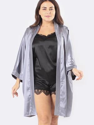 Комплект: халат, майка і шорти | 5595976