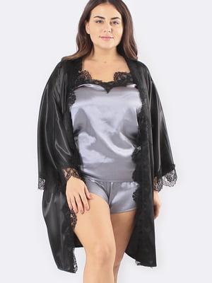 Комплект: халат, майка і шорти | 5595980