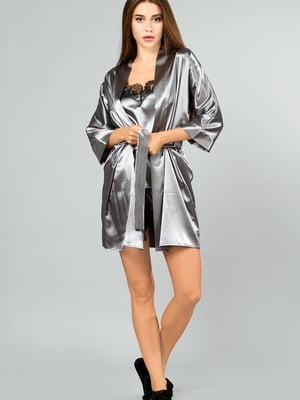 Комплект: халат, майка і шорти | 5595988