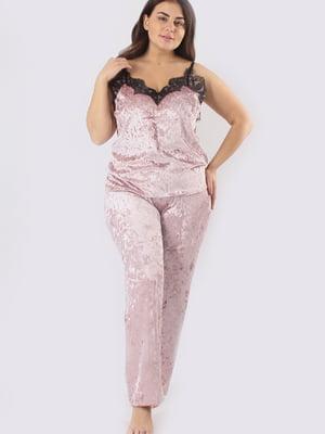 Пижама: майка и брюки | 5595994