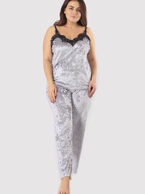 Пижама: майка и брюки | 5595998