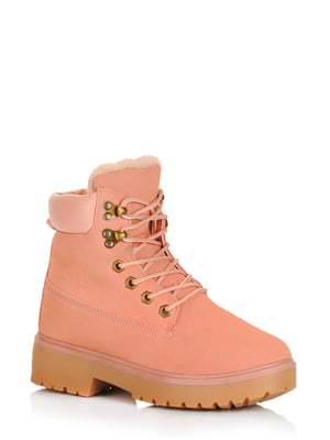 Ботинки розовые | 5595151