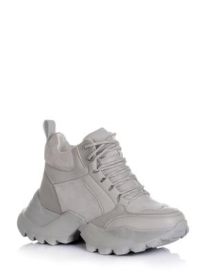Ботинки серые | 5595155