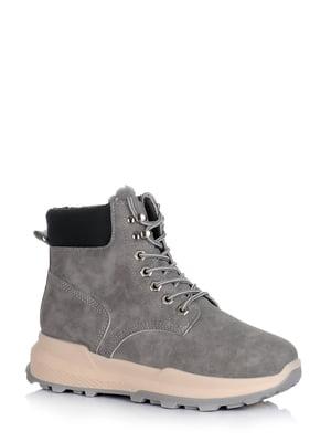 Ботинки серые | 5595157