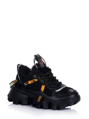 Кроссовки черные   5595183