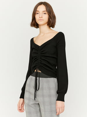 Пуловер чорний | 5595553