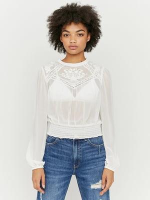 Блуза белая   5595582