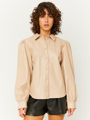 Рубашка бежевая | 5595724