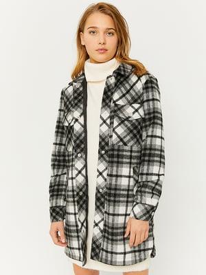Куртка-жакет в клітинку | 5595664