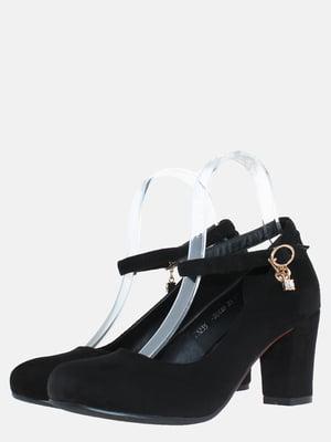 Туфлі чорні з декором   5579211