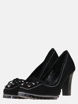 Туфли черные с декором | 5583298