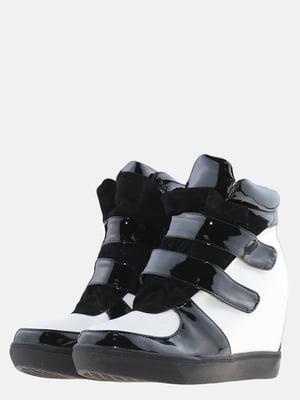 Снікерси біло-чорні | 5585100