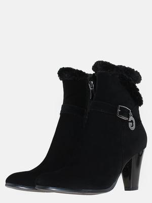 Ботинки черные с декором | 5591982