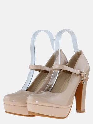 Туфли бежевые   5596395
