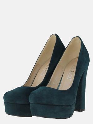 Туфлі смарагдового кольору | 5596402