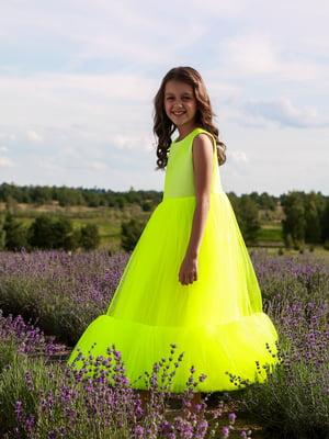 Сукня лимонного кольору | 5596549
