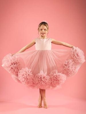Сукня кольору пудри | 5596553