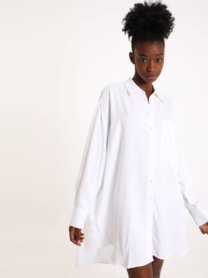 Туника-рубашка белая | 5594352