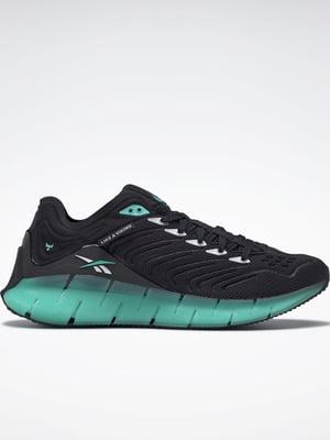 Кросівки чорно-ментолового кольору | 5589618