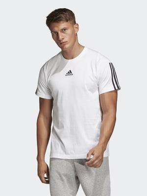 Футболка біла з логотипом | 5592287