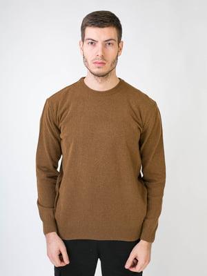 Джемпер коричневый   5590442