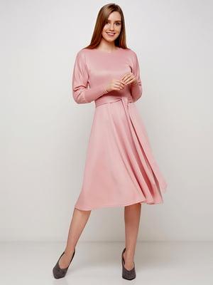 Сукня кольору пудри | 5591596