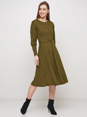 Сукня кольору хакі | 5591638