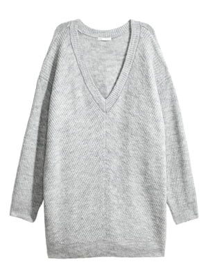 Пуловер серый | 5531786