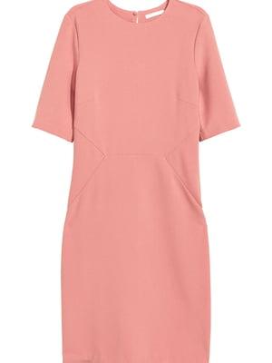 Сукня кольору пудри | 5596173