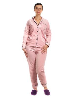 Пижама: рубашка и брюки | 5598631