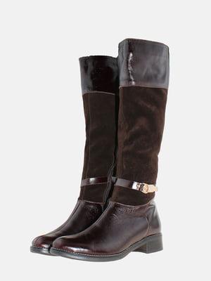 Чоботи коричневі | 5586335