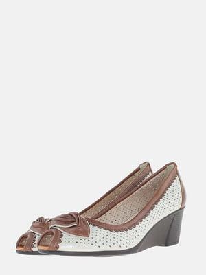 Туфлі бежеві | 5586677
