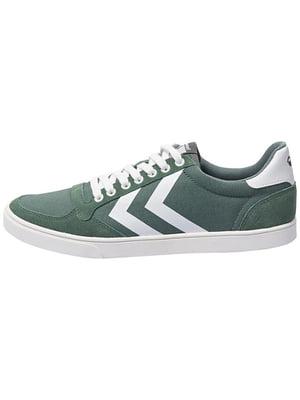 Кеды низкие зеленые | 5599491