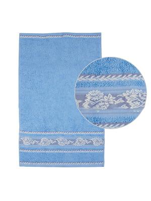 Рушник блакитний | 5514165