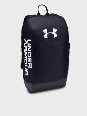 Рюкзак черный с принтом | 5601690