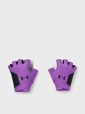 Перчатки фиолетовые | 5601706