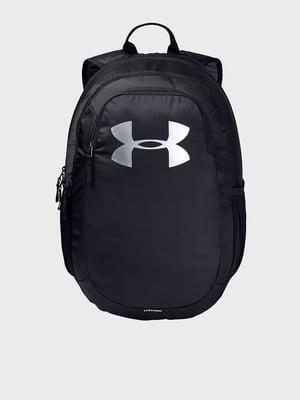 Рюкзак черный с принтом | 5601728