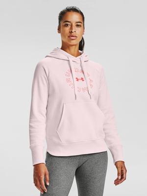 Худі рожева з принтом | 5602301