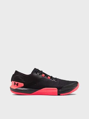 Кросівки рожево-чорні UA TriBase Reign 3021289-007 | 5602548